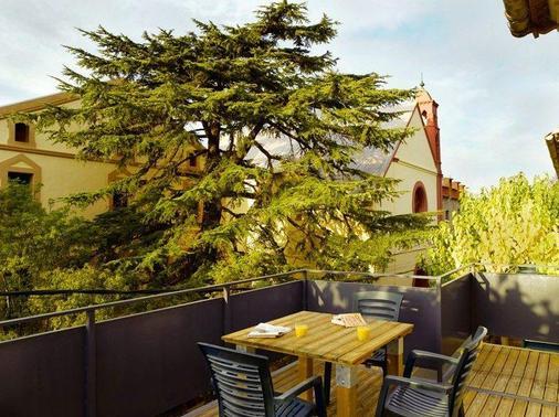Hotel Rural y Apartamentos Sercotel Villa Engracia - L'Espluga de Francoli - Balkon