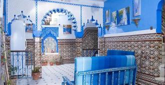Hotel Abi khancha - Chefchaouen - Recepción