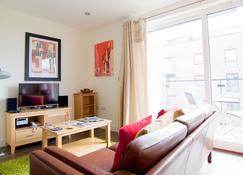 Signet Apartments - Ceres - Cambridge - Pokój dzienny
