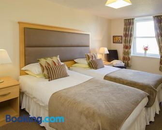 Station Hotel Portsoy - Банф - Bedroom