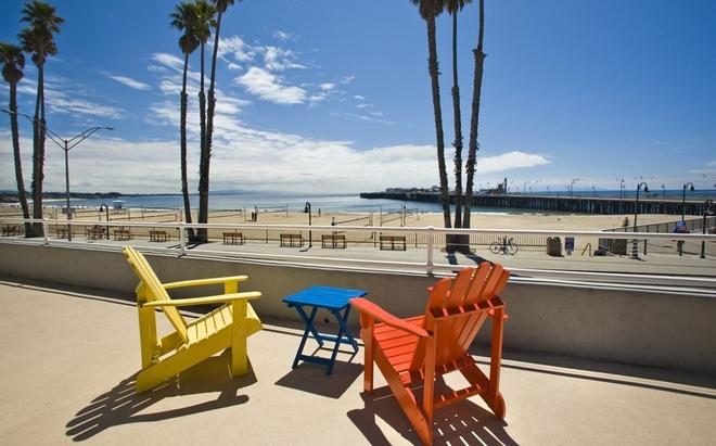 Beach Street Inn and Suites - Santa Cruz - Parveke