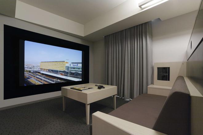 Haneda Excel Hotel Tokyu - Tokio - Wohnzimmer