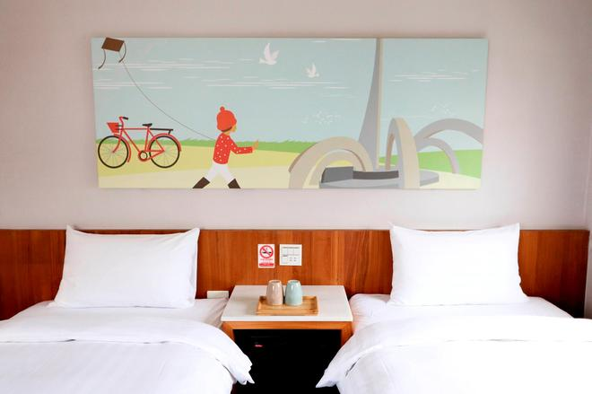 Meci Hotel - Hualien City - Bedroom