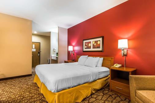 品質旅館及套房酒店 - 斯普林菲爾德 - 斯普林菲爾德 - 臥室