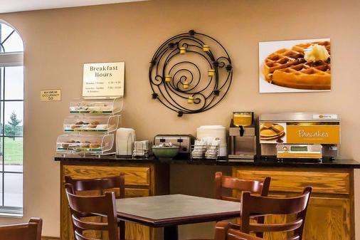 品質旅館及套房酒店 - 斯普林菲爾德 - 斯普林菲爾德 - 自助餐