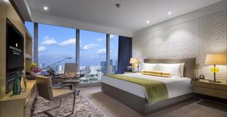 Intercontinental Shanghai Jing' An, An IHG Hotel - שנחאי - חדר שינה