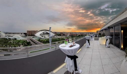 瓦倫西亞巴瑟羅酒店 - 瓦倫西亞 - 瓦倫西亞 - 陽台