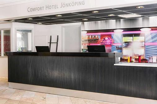 Comfort Hotel Jönköping - Jönköping - Front desk