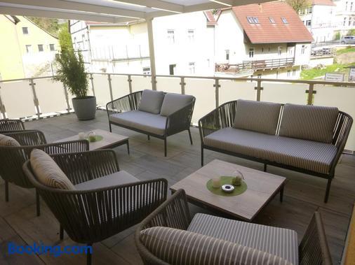 Hotel Wehlener Hof - Stadt Wehlen - Balcón