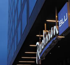 โรงแรมเรดิสัน บลู สนามบินซูริค