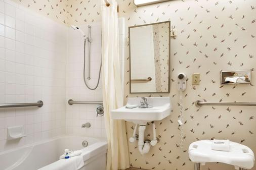 Microtel Inn & Suites by Wyndham Ann Arbor - Ann Arbor - Bathroom