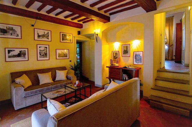 Palazzo Mari - San Gimignano - Living room
