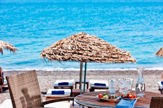 Alesahne Beach Hotel - Kamari - Plage