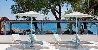 Alesahne Beach Hotel - Kamari - Uima-allas