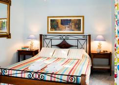 Alesahne Beach Hotel - Kamari - Camera da letto