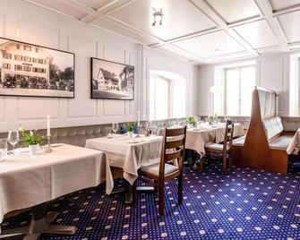 Mercure Lenzburg Krone - Lenzburg - Restaurant