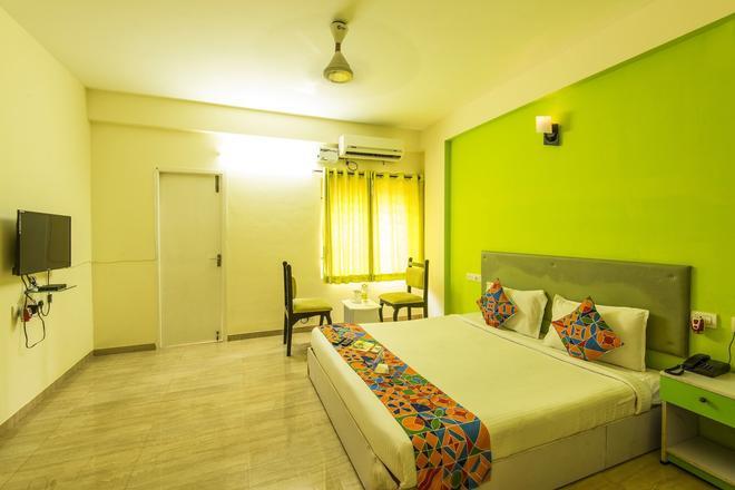 Fabhotel Green Tree Service Apartment - Chennai - Bedroom