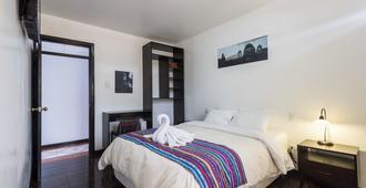 Pensión Sanbleña - קוסקו - חדר שינה