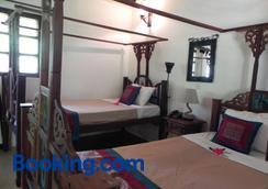 Langi Langi Beach Bungalows - Nungwi - Bedroom