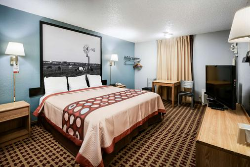 Super 8 by Wyndham Elk City - Elk City - Schlafzimmer