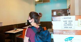 Guesthouse Camcam Okinawa - Hostel - נאהא - מסעדה