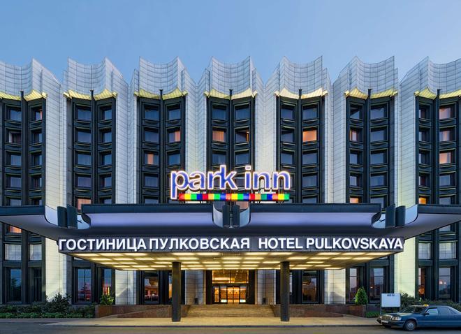 Park Inn by Radisson Pulkovskaya Hotel & Conferenc - Saint Petersburg - Toà nhà