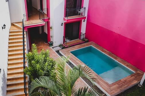 森特納里歐大酒店 - 梅利達 - 梅里達 - 游泳池