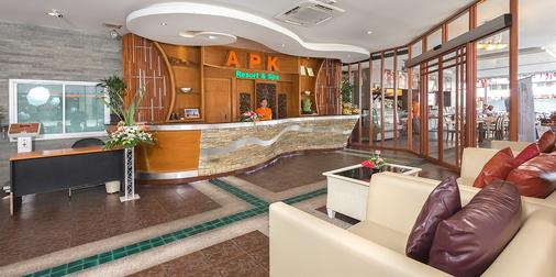 APK Resort & Spa - Patong - Front desk