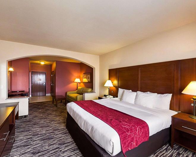 Comfort Suites At Plaza Mall - McAllen - Makuuhuone