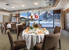 瑞士艾格峰 Q 酒店 - 勞特布魯嫩 - 勞特布龍嫩 - 宴會廳