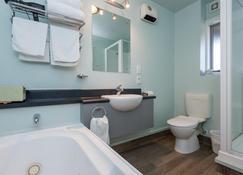 Greens Motel - Nelson (Nový Zéland) - Bathroom