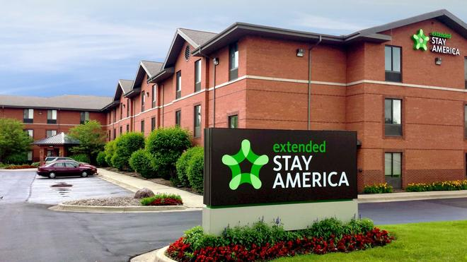 Extended Stay America - Detroit - Ann Arbor - University South - Ann Arbor - Rakennus