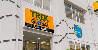 Trek Global Backpackers - Wellington - Edificio