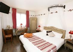 Brit Hotel Confort La Ferme du Pape - Eguisheim - Schlafzimmer