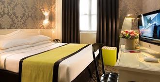Hotel Design Sorbonne - פריז - חדר שינה