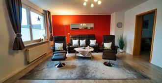 FeWo Galliet: central, quiet, luxuriously equipped, Wifi free - Essen - Wohnzimmer
