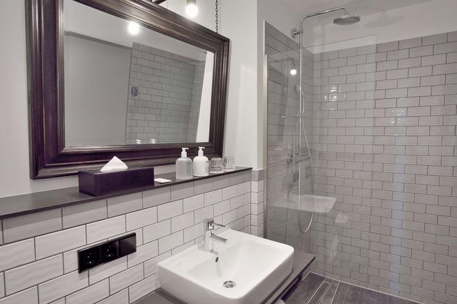 Staytion - Mannheim - Phòng tắm