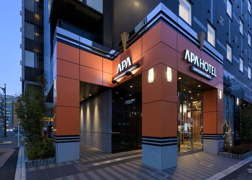Apa Hotel Shintomicho-ekikita - Tokyo - Building