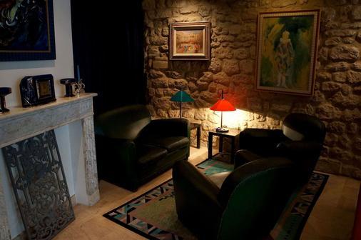 Hôtel Danemark - Paris - Living room