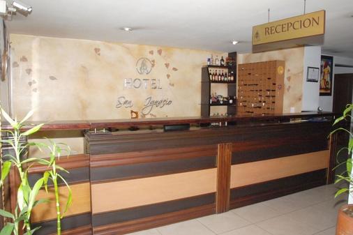 Hotel Plazuela San Ignacio - Medellín - Vastaanotto