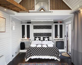 Strandflickornas Havshotell - Lysekil - Schlafzimmer