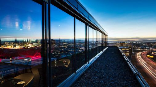 品質酒店 33 - 奥斯陸 - 奧斯陸 - 陽台