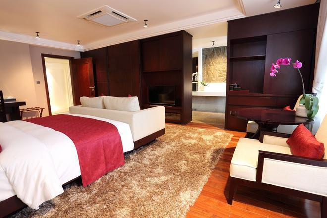 Arunreas Hotel - Пномпень - Спальня