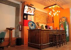 Hostal Amigo - Mexico City - Front desk
