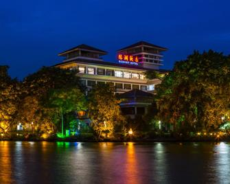 Ronghu Lake - Guilin - Building