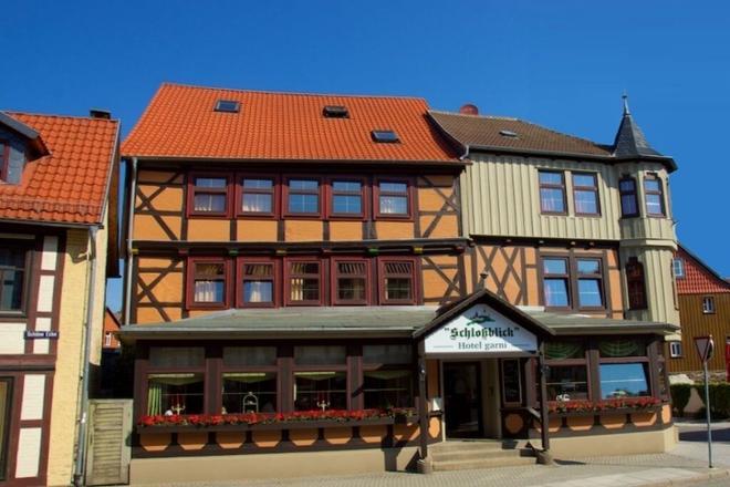 Hotel Schlossblick - Wernigerode - Rakennus
