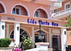 Ionian Lido Κέρκυρα Sun Hotel Μπενίτσες - Benitses - Κτίριο