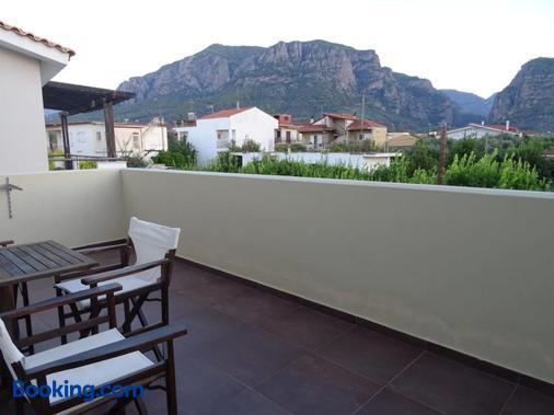 Alkistis Hotel - Diakopto - Balkon