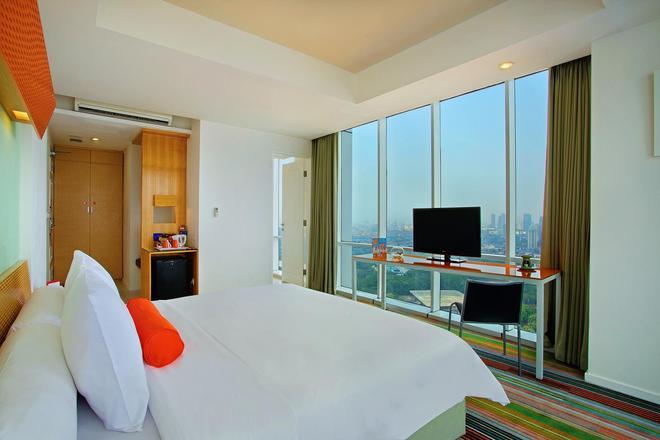 蘇迪曼哈里斯套房酒店 - 雅加達 - 雅加達 - 臥室