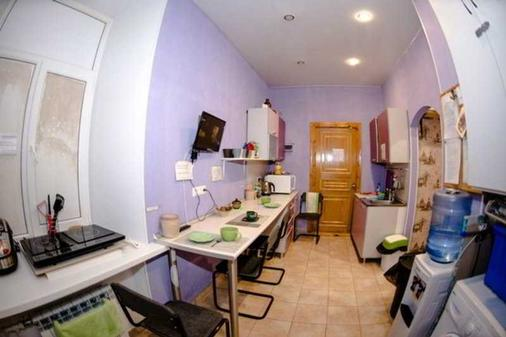 Dialog Spb Hostel - Saint Petersburg - Kitchen